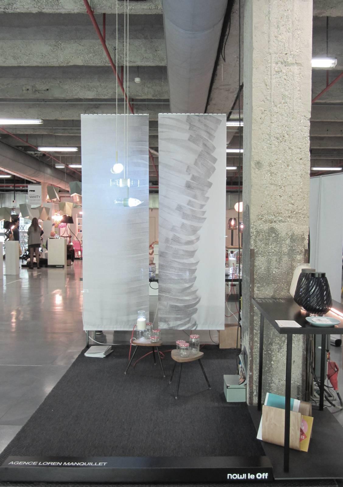 """Panneaux japonais trompe l'oeil """"Souffle"""" - exemple de réalisation 2"""