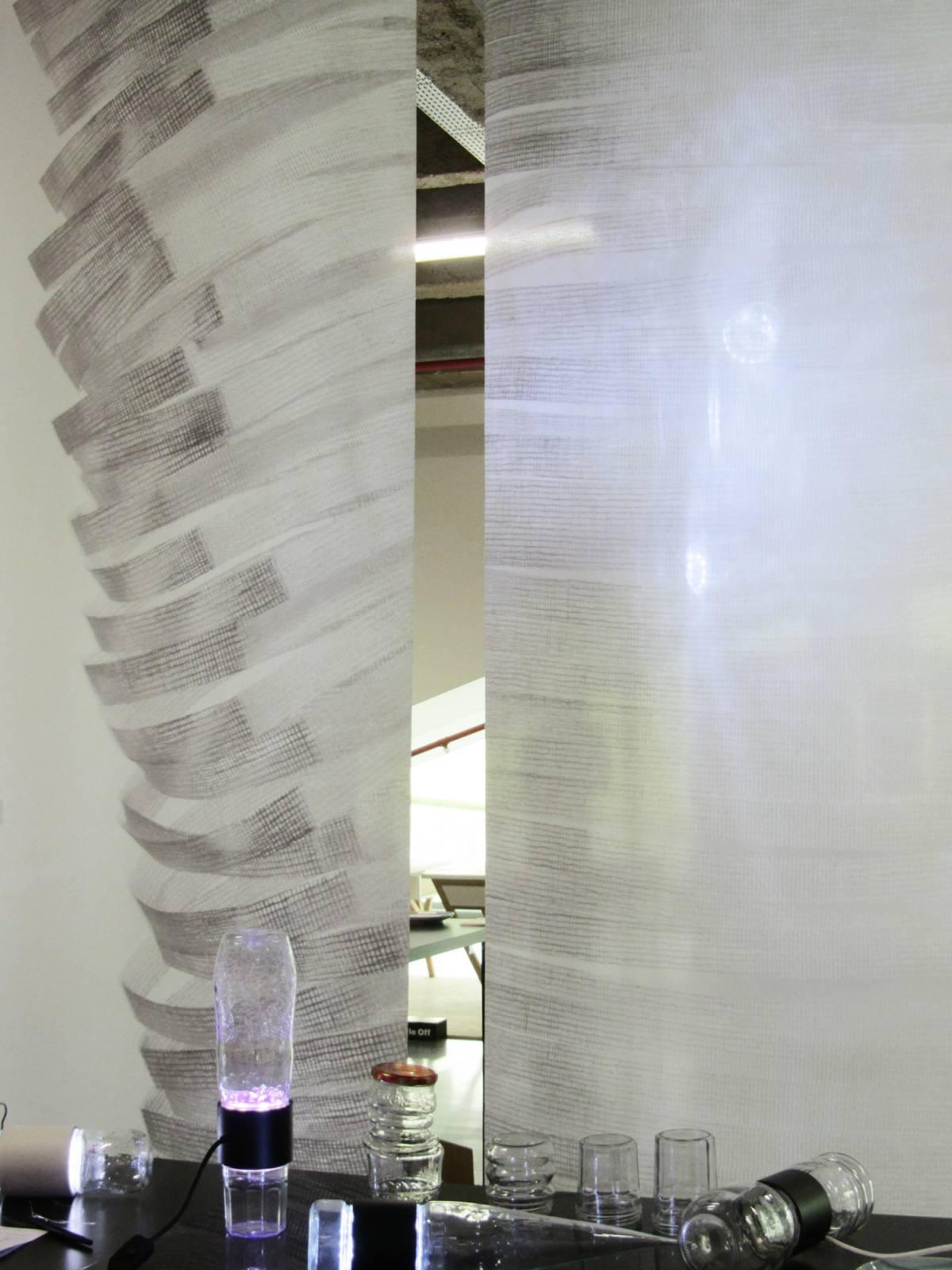 """Panneaux japonais trompe l'oeil """"Souffle"""" - exemple de réalisation 4"""
