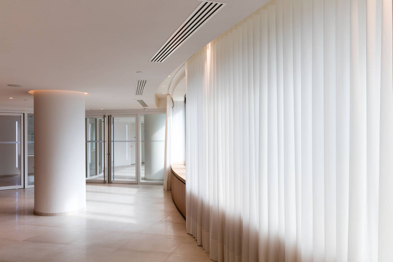 1 - Window treatments for Allianz