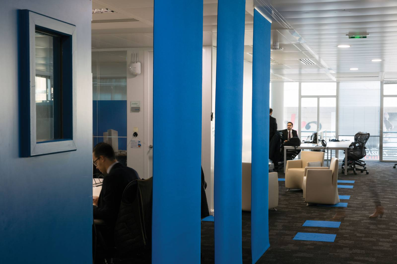 3 - Space dividers for Accenture