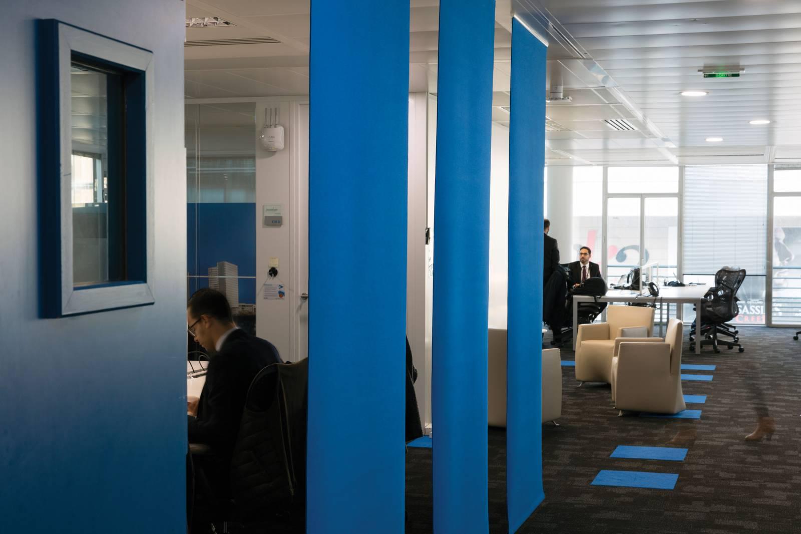 3 - Séparation d'espaces de travail pour Accenture