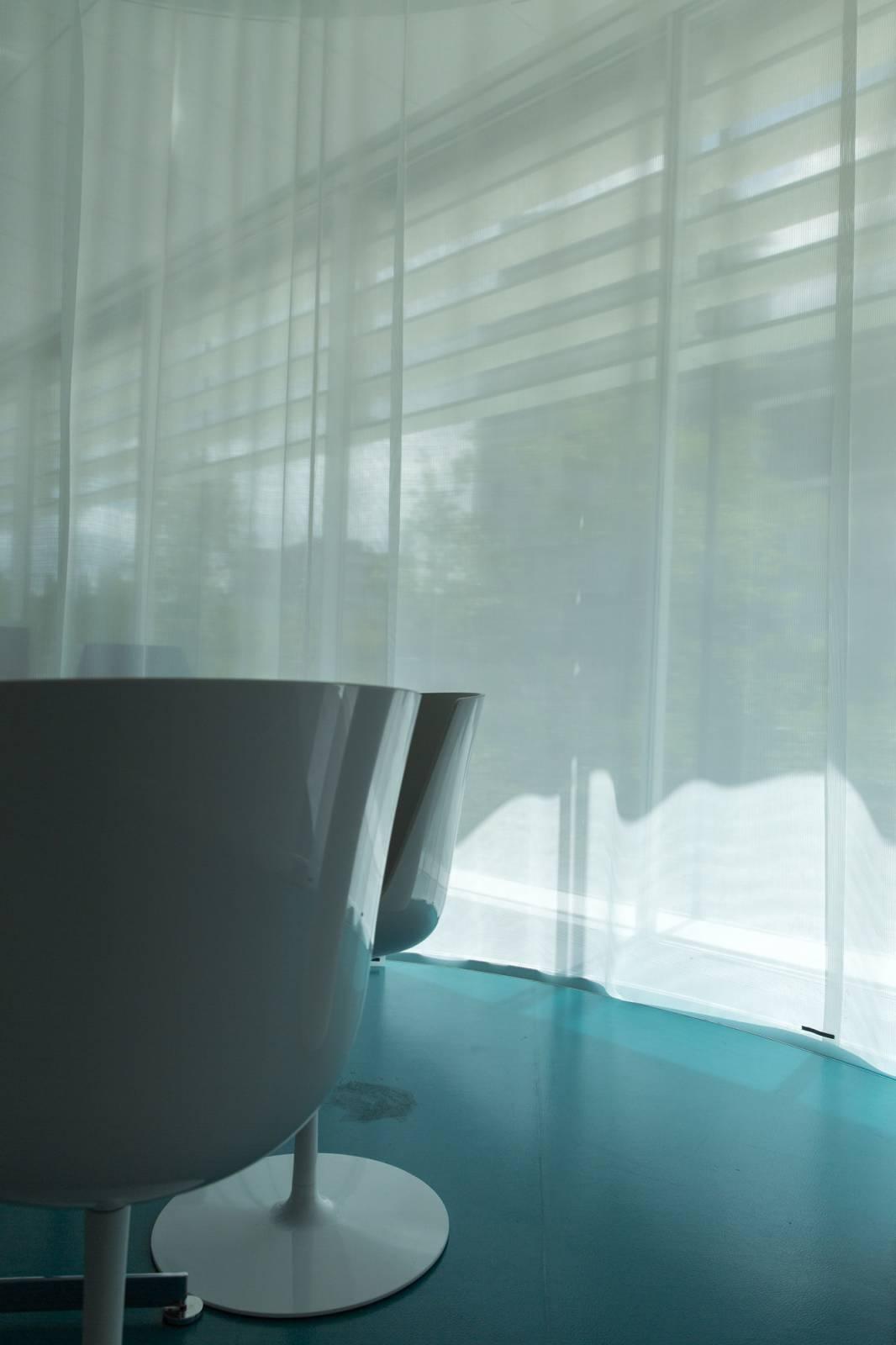 Flat curtains: Médiathèque de Colombes