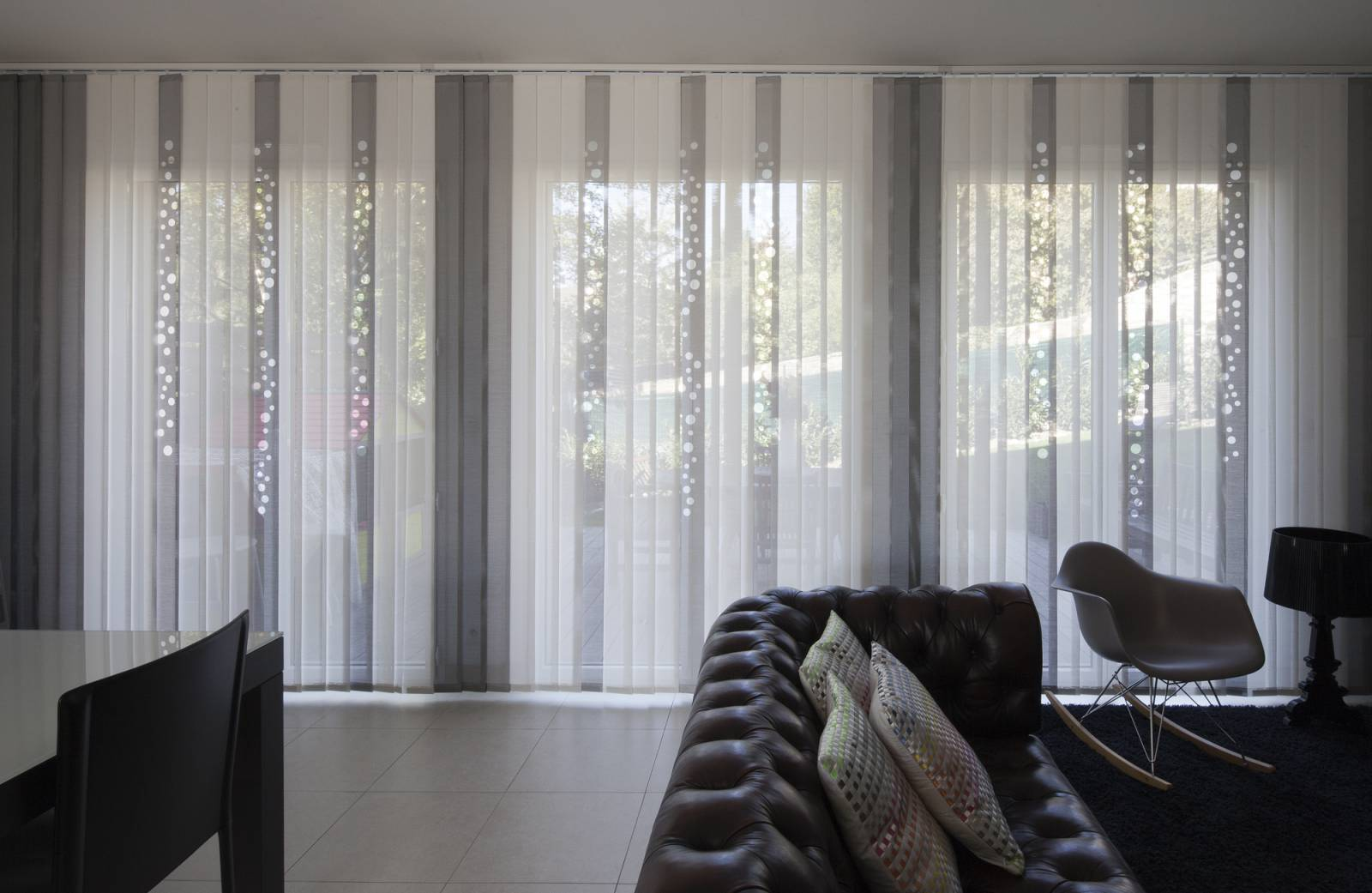 "Vertical blinds ""Bubbles"" - example 1"