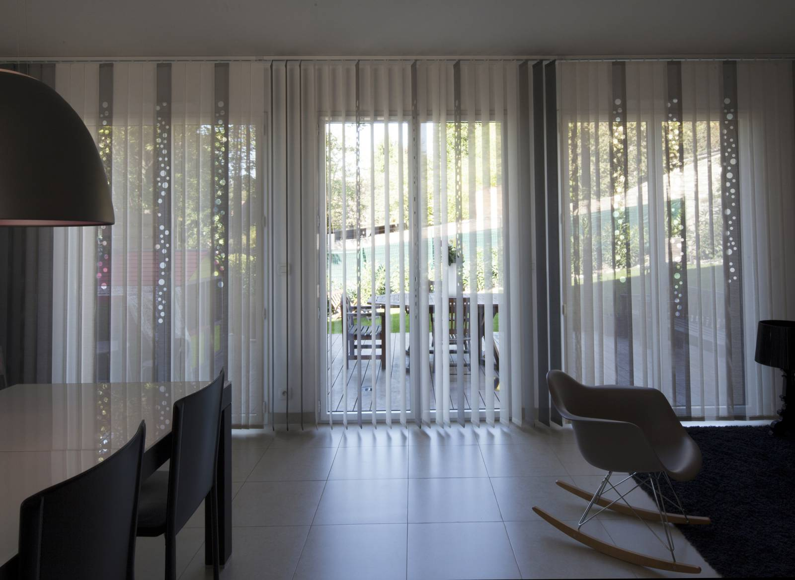 "Vertical blinds ""Bubbles"" - example 2"
