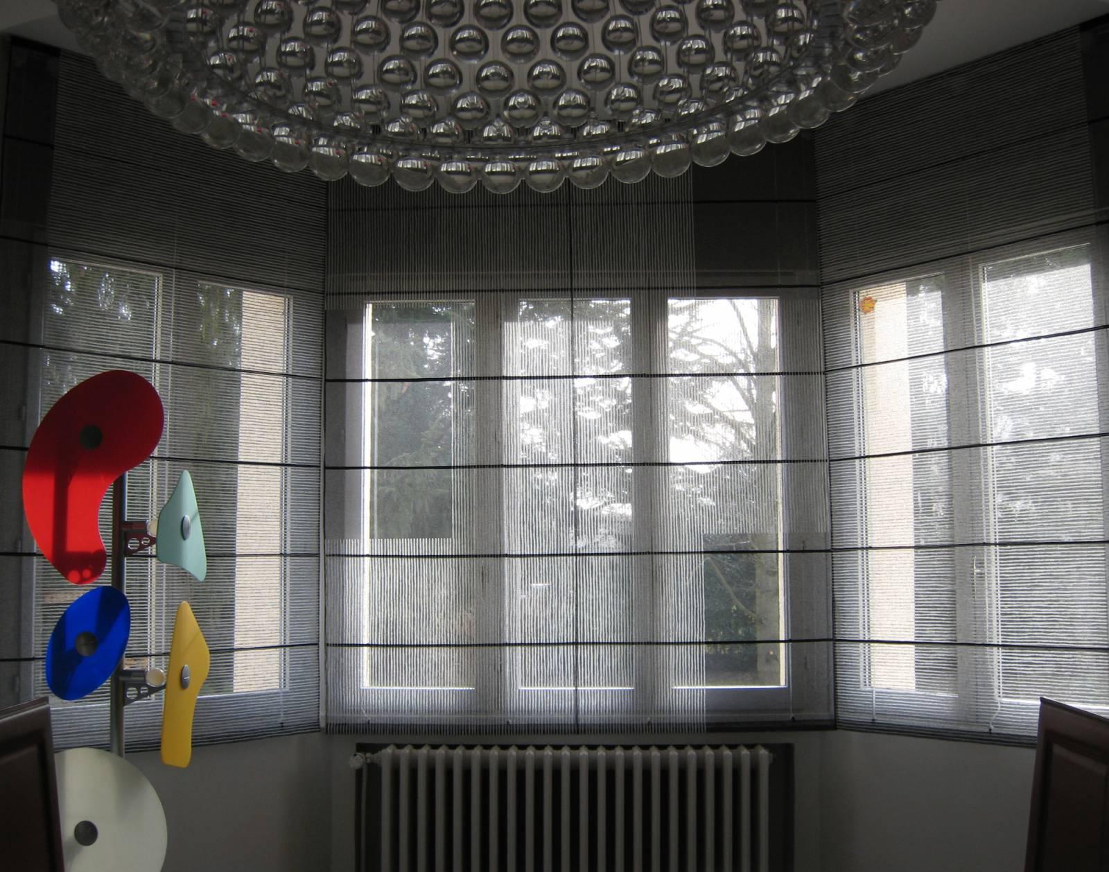 """Roman blinds """"Siesta V"""" - example 1"""