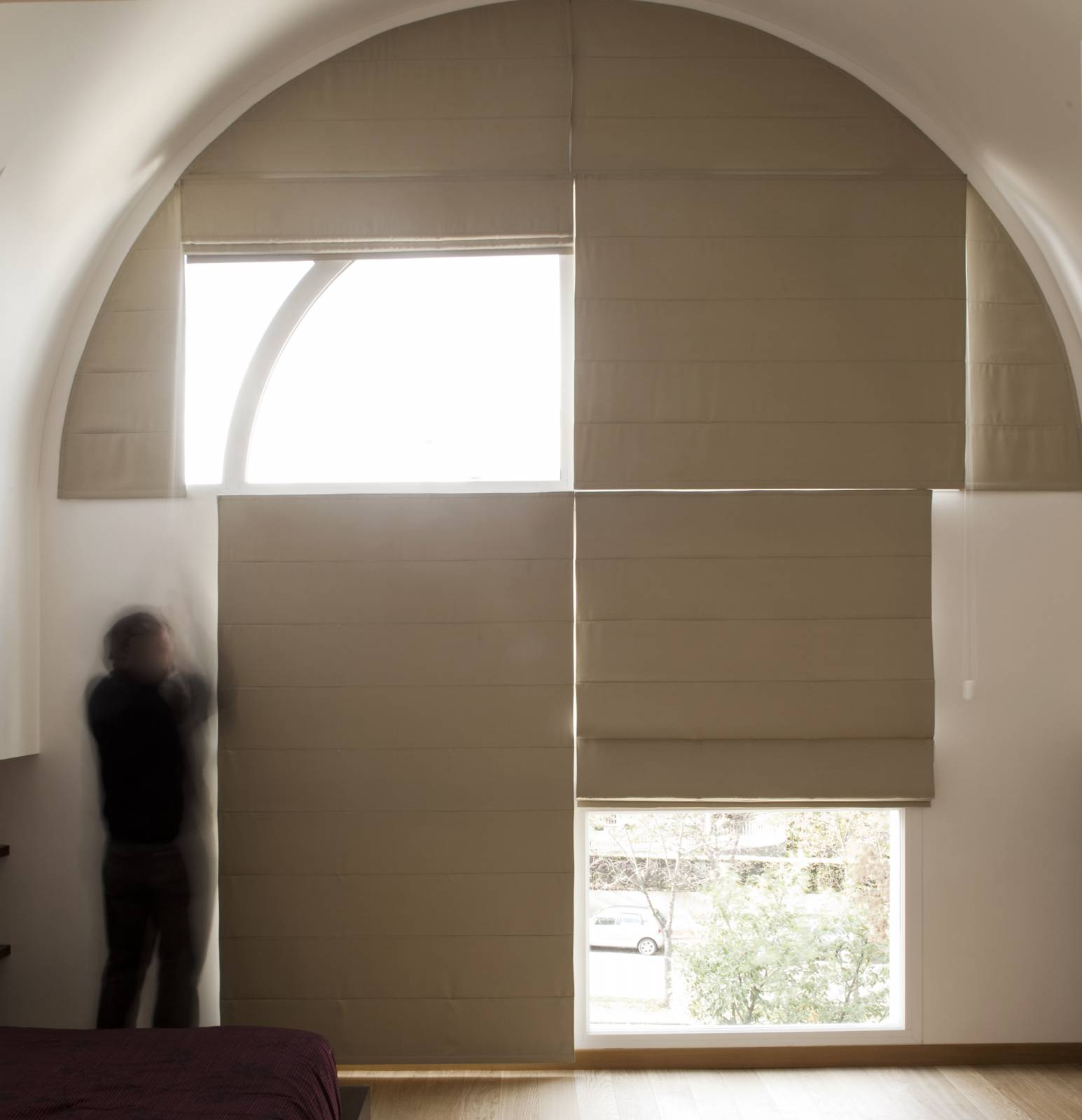 Roman blinds - example 4