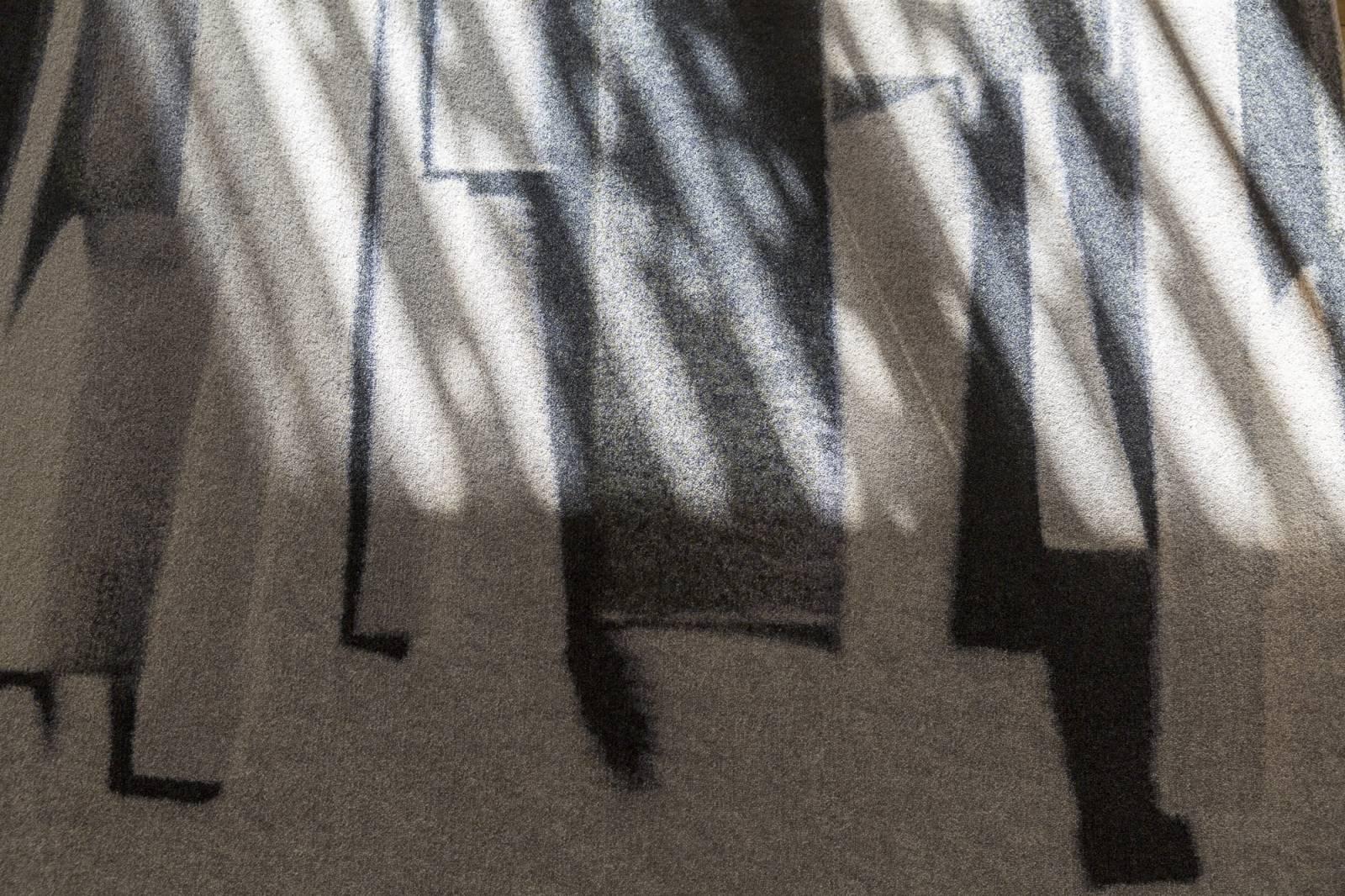 """Moquette trompe-l'oeil sur mesure """"Stratos"""" - exemple de réalisation 5"""