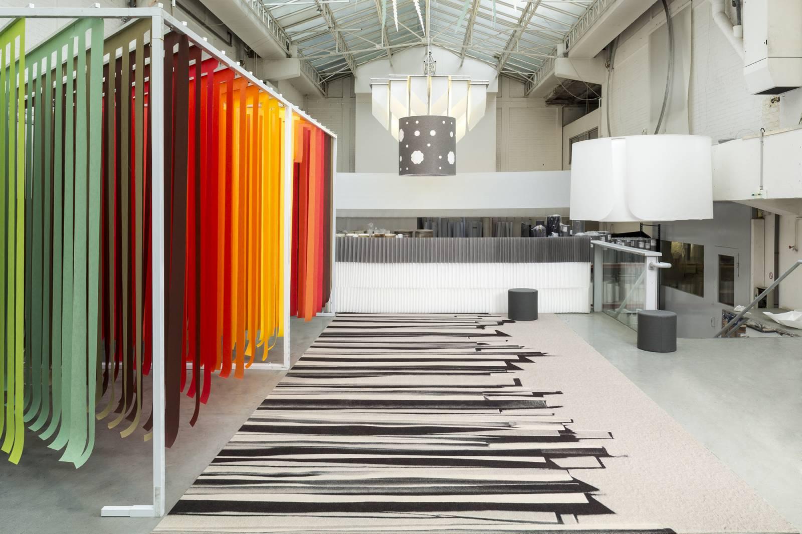 """""""Stratos"""" custom trompe l'oeil carpet - example 2"""