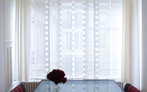 """Panneaux japonais écran solaire """"Le Cahier"""" - exemple de réalisation 1"""