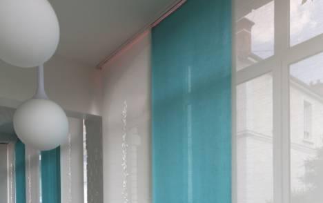 """Panneaux japonais translucides """"Gouttes de pluie"""" - exemple de réalisation 10"""