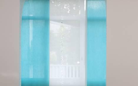 """Panneaux japonais translucides """"Gouttes de pluie"""" - exemple de réalisation 11"""