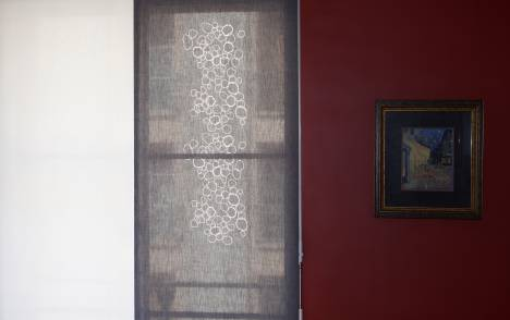 """Panneaux japonais translucides """"Galets"""" - exemple de réalisation 2"""