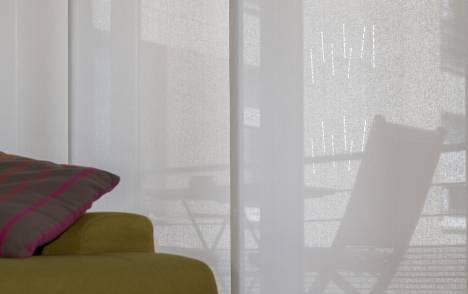 """Panneaux japonais écran solaire """"Mikado"""" - exemple de réalisation 3"""