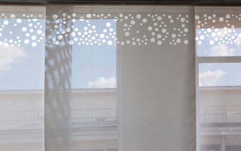 """Panneaux japonais écrans solaires """"Bulles de savon"""" : bureau de direction - Paris - 3"""