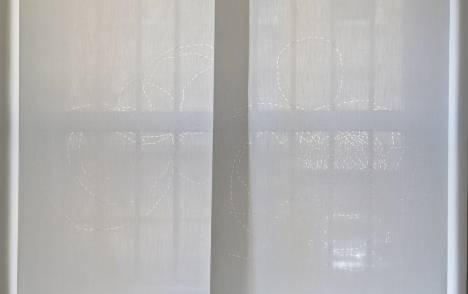 """Panneaux japonais translucides """"Chemin infini"""" - exemple de réalisation 4"""