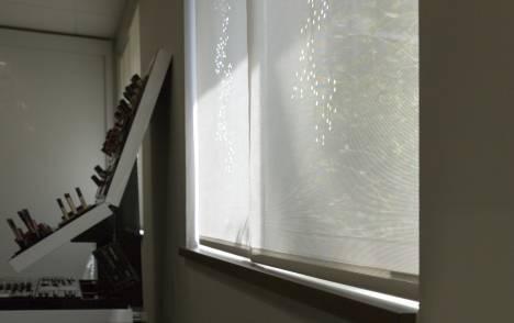 """Panneaux japonais écran solaire """"Champagne"""" - exemple de réalisation 5"""