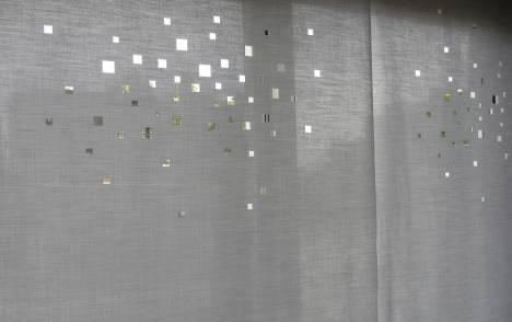 """Panneaux japonais translucides """"Lumières de la ville"""" - exemple de réalisation 5"""