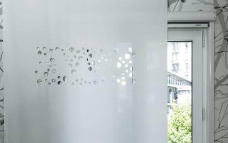 """Panneaux japonais translucides """"Bulles de savon"""" - exemple de réalisation 7"""