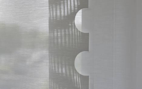 """Panneaux japonais écran solaire """"Le Cahier"""" - exemple de réalisation 6"""