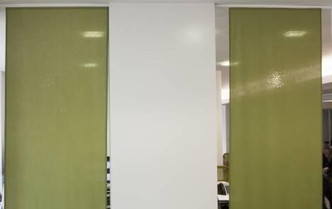 """Panneaux japonais translucides """"Petites fenêtres"""" - exemple de réalisation 6"""
