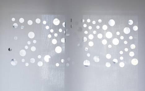 """Panneaux japonais translucides """"Bulles de savon"""" - exemple de réalisation 9"""