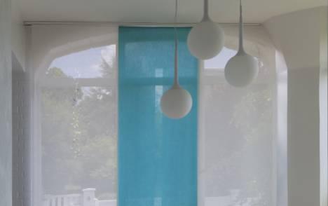 """Panneaux japonais translucides """"Gouttes de pluie"""" - exemple de réalisation 9"""
