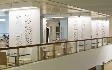 """Panneaux japonais écrans solaires """"Bulles de savon"""" : Grand Palais - 4"""