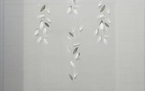 """Panneaux japonais écrans solaires """"Guirlande de feuilles"""" - exemple de réalisation 2"""