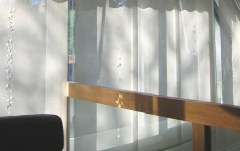 """Panneaux japonais écrans solaires """"Guirlande de feuilles"""" - exemple de réalisation 4"""