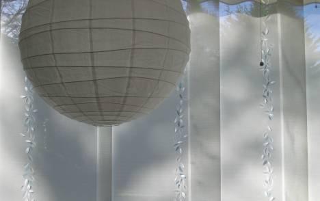 """Panneaux japonais écrans solaires """"Guirlande de feuilles"""" - exemple de réalisation 6"""