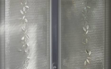 """Panneaux japonais écran solaire """"Guirlande de feuilles"""" - exemple de réalisation 11"""