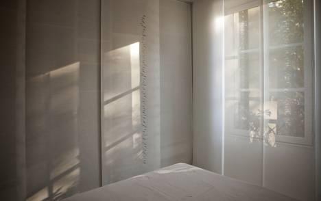 """Panneaux japonais écran solaire """"Petites lunes"""" - exemple de réalisation 1"""