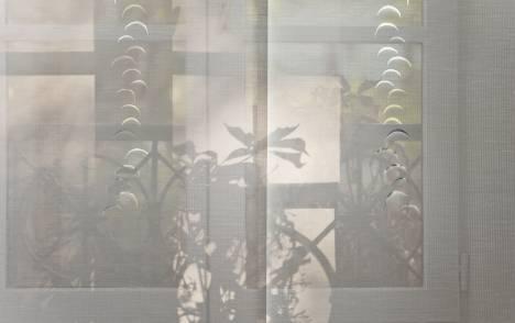 """Panneaux japonais écran solaire """"Petites lunes"""" - exemple de réalisation 2"""