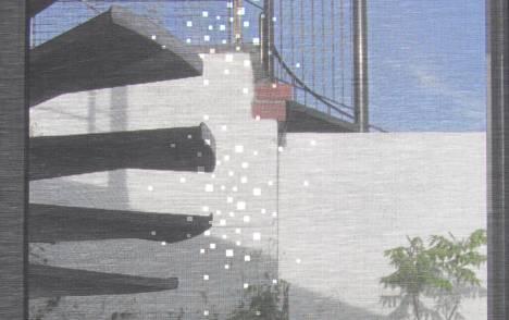 """Panneaux japonais écran solaire """"Petites fenêtres"""" - exemple de réalisation 2"""