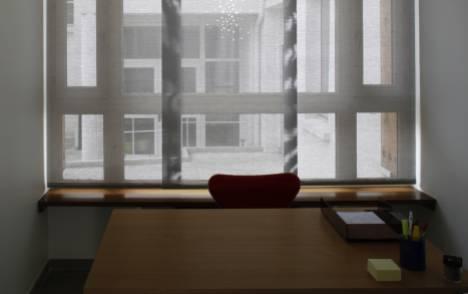 """Panneaux japonais écran solaire """"Petites fenêtres"""" - exemple de réalisation 4"""