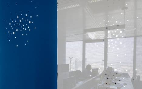 """Panneaux japonais écran solaire """"Petites fenêtres"""" - exemple de réalisation 12"""