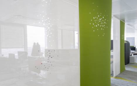 """Panneaux japonais écran solaire """"Petites fenêtres"""" - exemple de réalisation 13"""