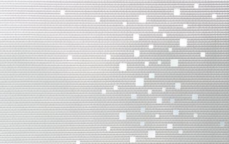 """Little windows"" sun screen sliding panel - example 20"