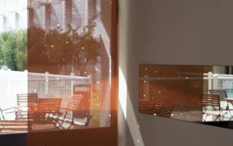 """Panneaux japonais translucides """"Voie lactée"""" - exemple de réalisation 6"""