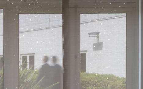 """Panneaux japonais translucides """"Voie lactée"""" - exemple de réalisation 15"""