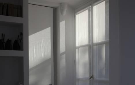 """Panneaux japonais translucides """"Soleil"""" - exemple de réalisation 2"""