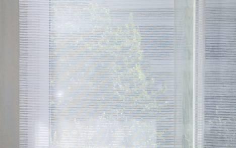 """Siesta H"" transparent sliding panel - example 3"