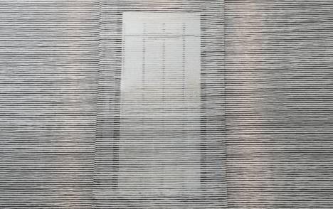 """Panneaux japonais transparents """"Sieste H"""" - exemple de réalisation 7"""