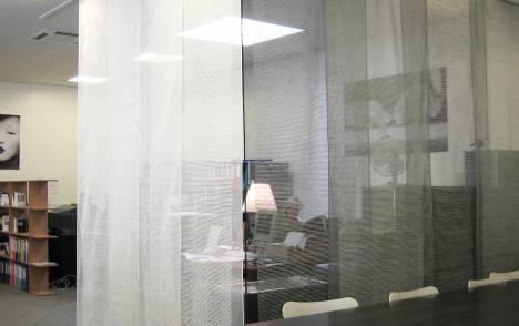 """Panneaux japonais transparents """"Sieste H"""" - exemple de réalisation 14"""