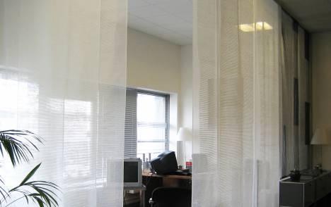 """Panneaux japonais transparents """"Sieste H"""" - exemple de réalisation 15"""
