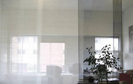 """Panneaux japonais transparents """"Sieste H"""" - exemple de réalisation 16"""