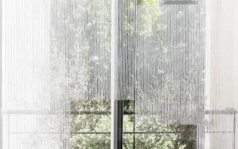"""Panneaux japonais transparents """"Sieste V"""" - exemple de réalisation 9"""