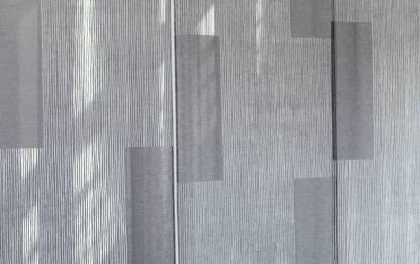 """Panneaux japonais transparents """"Sieste V"""" - exemple de réalisation 4"""