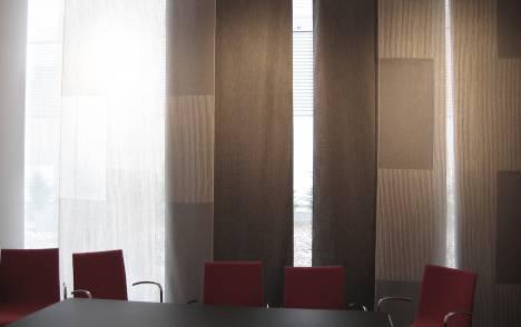"""Panneaux japonais transparents """"Sieste V"""" - exemple de réalisation 7"""