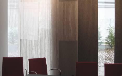 """Panneaux japonais transparents """"Sieste V"""" - exemple de réalisation 8"""